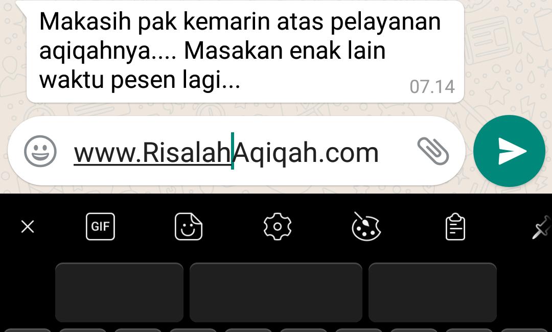 Aqiqah Tangerang, Paket Aqiqah Tangerang,